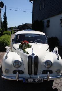 """Hochzeitsauto BMW 502 """"Barockengel"""""""