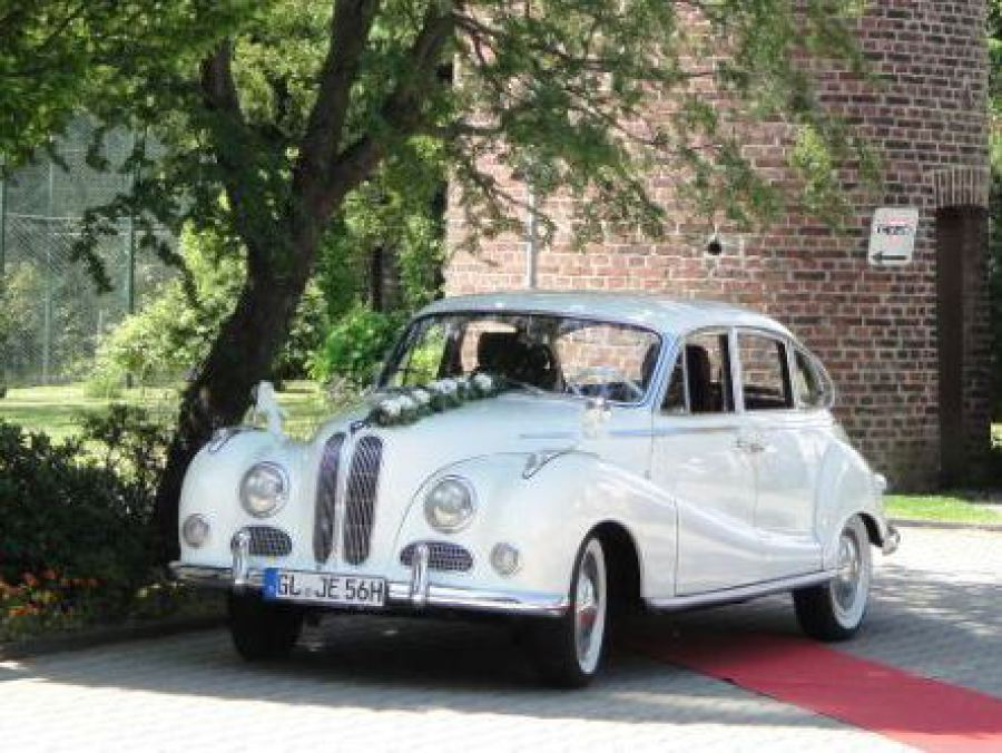 BMW Oldtimer mieten als Hochzeitsauto