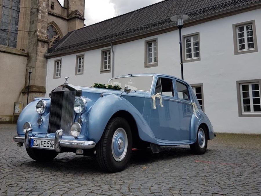 Oldtimer mieten Köln: Rolls-Royce Silver Dawn
